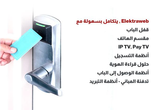 Elektraweb 3. Parti sistemlerle entegre otel yazılımı