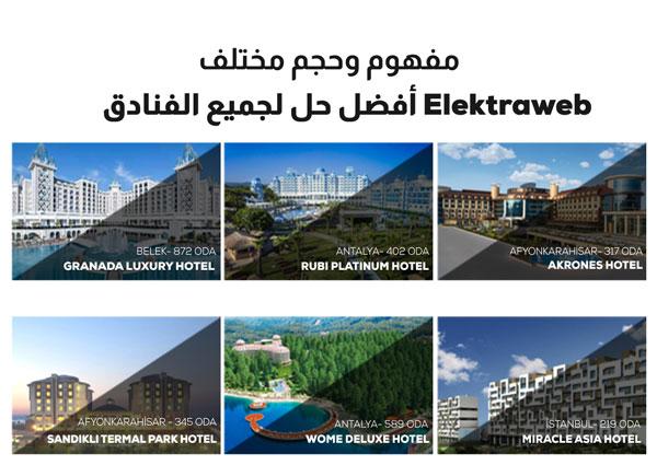 elektraweb en güvenli otel yazılımıdır