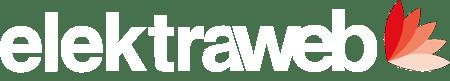 Elektraweb Otel Programı&Yazılımı Logo Beyaz Yazı
