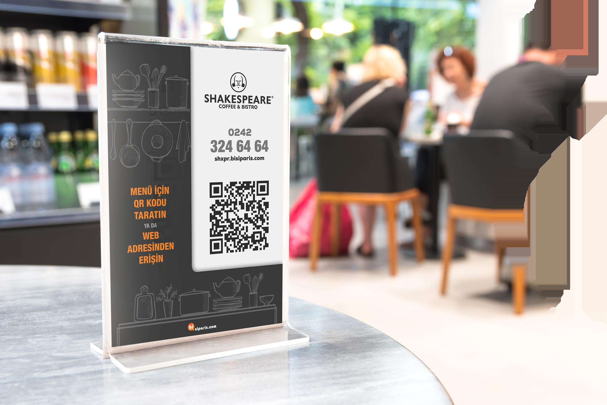 free restaurant digital menü
